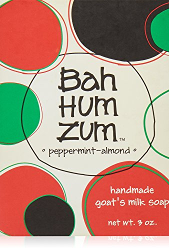 Indigo Wild - Bah Summen Zum Milch-Stab-Seife Pfefferminz-Mandel der handgemachten Ziege - 3 Unze. (Ziegen Milch Seife)