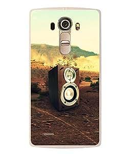 FUSON Designer Back Case Cover for LG G4 :: LG G4 Dual LTE :: LG G4 H818P H818N :: LG G4 H815 H815TR H815T H815P H812 H810 H811 LS991 VS986 US991 (Music Sets Sounds Lights home Theatre )