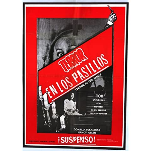 Terror in the Aisles Poster (27 x 40 Inches - 69cm x 102cm) (1984) Spanish
