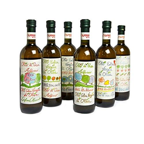 Olio extra vergine di oliva olio di casa anfosso 750ml