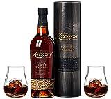 Ron Zacapa Centenario Edición Negra Rum, inkl. 2x Zacapa Glas (1 x 0.7 l)