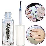 Bluelover Professional Nail Art Colla Foil Adesivo Adesivo Bianco Consigli Di Trasferimento