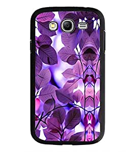 PrintDhaba Purple Leaves D-1178 Back Case Cover for SAMSUNG GALAXY GRAND NEO PLUS (Multi-Coloured)