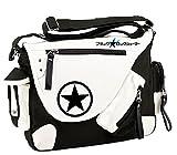 Siawasey Japanische Anime Cosplay Handtasche Rucksack Messenger Bag Umhängetasche, Black Rock Shooter