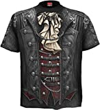 Spiral - Men - GOTH WRAP - Allover T-Shirt Black