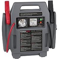4 in 1 Jump Starter Booster Avviatore portatile di emergenza per auto 900A 12V con compressore, batteria e lampada Powerplus POWE80090