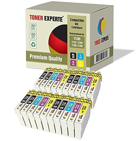 20 XL TONER EXPERTE® T1295 Druckerpatronen kompatibel für Epson Stylus