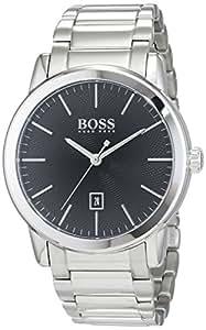 HUGO BOSS Men's Analogue Quartz Watch with Stainless Steel Bracelet – 1513398
