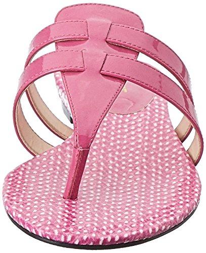 Nine West Fuori sintetico Dress Sandal Med Pink