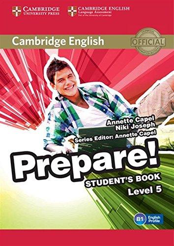 Cambridge English prepare! Level 5. Student's book. Per le Scuole superiori. Con espansione online