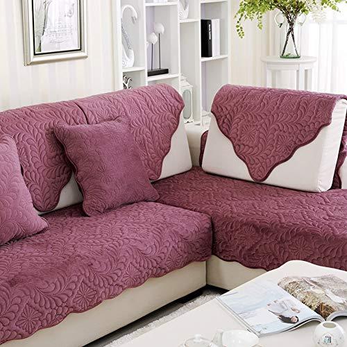 NANIH home Cuscini per divani in peluche Tessuto Anti-slittamento ...