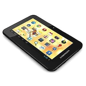 Videocon VA72K Tablet (7 inch, 4GB, Wi-Fi Only), Black-White