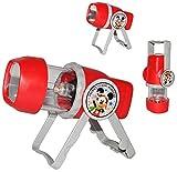 3 in 1: Kombi - Taschenlampe LED - Mickey Mouse - zum Aufstellen oder als Tragelampe - für Kinder Lampe
