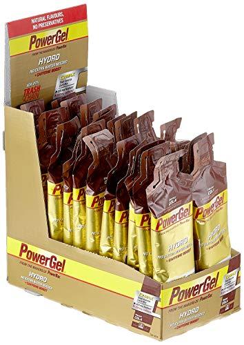 PowerBar Power Gel Hydro mit Kohlenhydraten, Maltodextrin & Natrium - Energie Gels - Vegan - Trinkbar ohne Wasser - 100mg Koffein - Cola (24 x 67 ml) - Gel Ziel