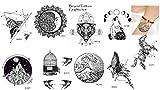 9 Bögen Linien Tattoos Grafische Tattoos Grafisch 9 modische Motiven