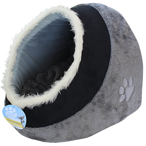 me-my-lit-igloo-super-doux-pour-animaux-de-compagnie-gris-noir