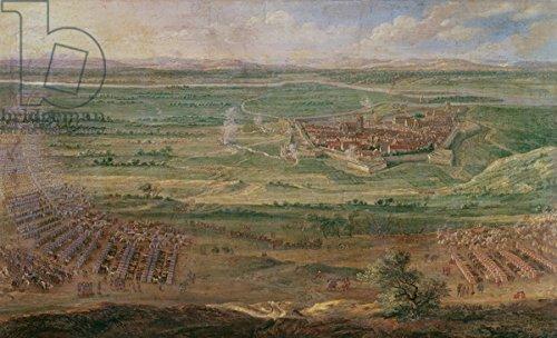 leinwand-bild-30-x-20-cm-the-siege-of-dole-in-june-1674-oil-on-canvas-bild-auf-leinwand