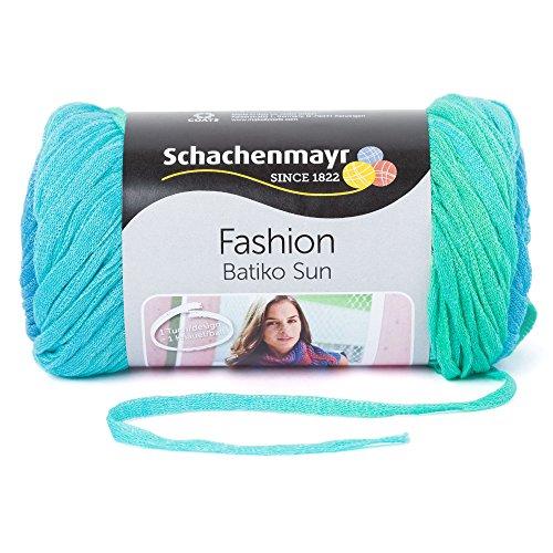 Baumwolle Stricken (Schachenmayr  Batiko Sun 9807825-00081 acqua color Handstrickgarn)
