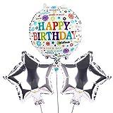 Happy Birthday - Globo de cumpleaños, decoración de fiesta, glo