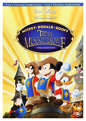 mickey-donald-dingo-les-trois-mousquetaires-dvd-region-2-import-pas-de-version-franaise