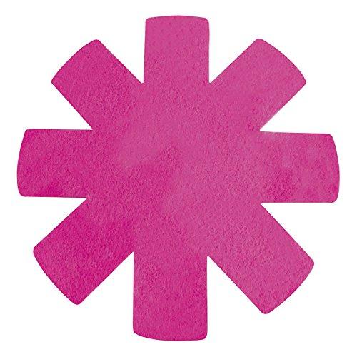 MSV MS636 - Lote de 3 Protecciones para sartenes, Color Rosa