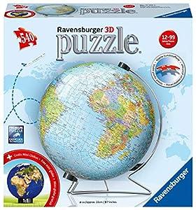 Ravensburger 00.011.159 puzle 3D - Puzles 3D (540 Pieza(s), Mundo, 12 año(s), 99 año(s), Preescolar, 22 cm)