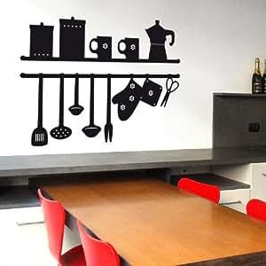 Sticasa la mia cucina adesivo murale 72 x 49 cm for Stickers murali cucina