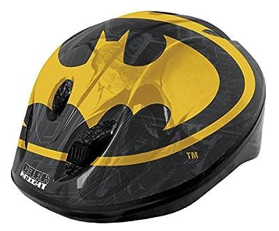Batman Boy's Safety Helmet-Black/Yellow, 52-56 cm from Batman