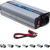 VOLTRONIC modifizierter Sinus Spannungswandler 12V auf 230V, Stromwandler in 7 Varianten: 200 – 3000 Watt, Wechselrichter mit e8 Norm