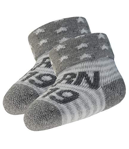 EveryKid Ewers Babysöckchen unisex Frotteesöckchen Markensöckchen Newborn Söckchen Socken Boys Girls Born in 2019 für Babys (EW-205121-S19-BU0-3900-OS) in Sweater, Größe OS inkl Fashionguide -