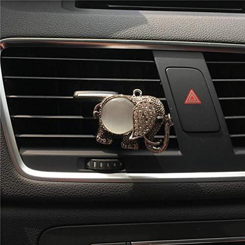FASHLADY Newcar Aria condizionata Profumo Presa Belle Decorazioni Auto Personalizzate, Deodorante per Auto-Styling del Profumo dell'automobile: A