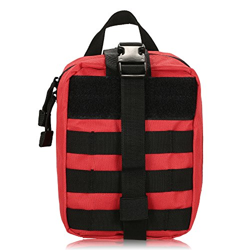 Questa borsa medica è utilizzata dai vigili del fuoco e dai civili responsabili come componente facilmente accessibile e necessaria per le necessità di primo soccorso. Ma è anche un accessorio inedito per gli escursionisti, i campeggiatori e gli altr...
