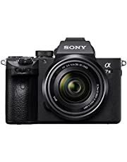 Sony Alpha ILCE-7M3K Full-Frame 24.2MP Mirrorless Digital SLR Camera with 28-70mm Zoom Lens (4K Full Frame, Real-Time Eye Auto Focus, Tiltable LCD, Low Light Camera) - Black