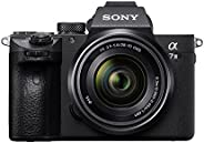 Sony Alpha ILCE-7M3K Full-Frame 24.2MP Mirrorless Digital SLR Camera with 28-70mm Zoom Lens (4K Full Frame, Re