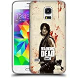 Official AMC The Walking Dead Daryl Distressed Illustrations Hard Back Case for Samsung Galaxy S5 mini