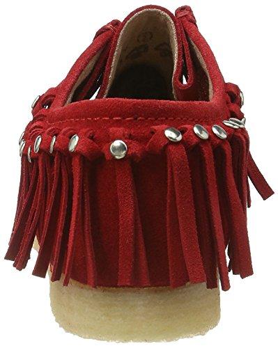 Sioux Damen Grash-d161-03 Mokassin Rot (Fire)