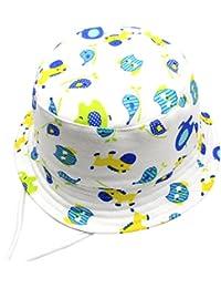 Cloud Kids Chapeau De Soleil Bébé Anti Uv Bob Coton Fille Garçon Loisir  Voyage Outdoor 629e377217c