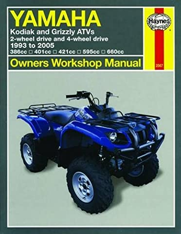 Yamaha Kodiak and Grizzly ATVs 1993 - 2005 (Owners Workshop