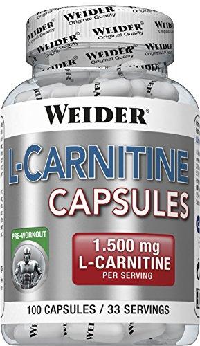 Weider L-Carnitine - 100 Capsulas