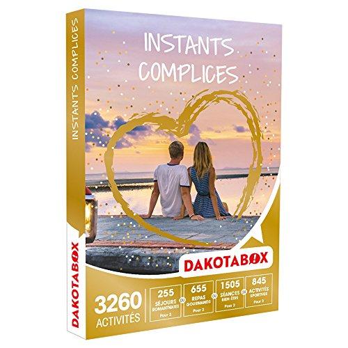 DAKOTABOX - Coffret Cadeau - INSTANTS COMPLICES - activités pour partager un instant...