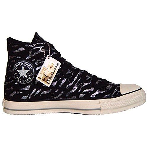 Converse Allstar Schuhe Chucks 6,5 EU 39,5 Silber Black Tiger Print Limited Edition 501959 (Silber All Damen Star Converse)