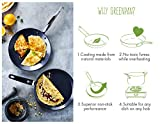 Greenpan Essentials Pancake Pfanne, Aluminium, antihaftbeschichtet, schwarz, 24cm, 42,1x 24x 7,3cm