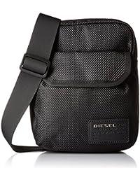 Diesel X04010, Besaces homme, Negro (Black), 10x25x20 cm (W x H L)