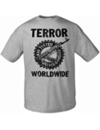 Terror Worldwide Kid Tested Vintage 187135 Herren MännerT-Shirt S-2XL Art Worx