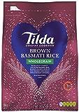 Tilda Wholegrain Basmati Rice 5kg, 1er Pack (1 x 5kg)