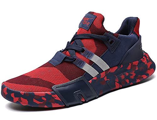 SINOES Unisex Camo Luftkissen Freizeit Sneaker