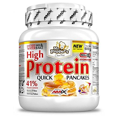 AMIX HIGH PROTEIN PANCAKES 600 GR - Sabor - Vainilla-Yogurt