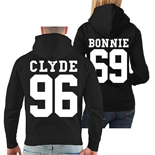 ver BONNIE & CLYDE 69 (mit Rückendruck) (Frau Gangster)