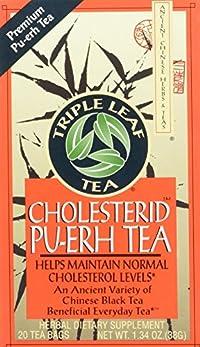 Triple Leaf Tea Cholesterid -- 20 Tea Bags