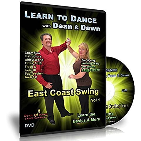 East Coast Swing vol 1 - Learn the Basics & More (Swing Dance Lessons DVD) by Dean Garrish